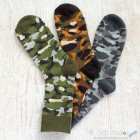 Military Camouflage Cotton Sock - 3 Colors