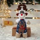 Blue Sock Reindeer
