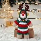 Festive Sock Reindeer
