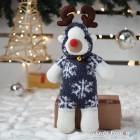 Gray Sock Reindeer