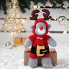 Santa Sock Reindeer