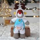 Snowman Sock Reindeer