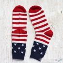 American Themed Wool Socks
