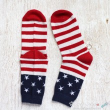 American Themed Wool Socks