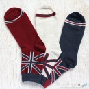United Kingdom Flag Cotton Socks - 2 Colors