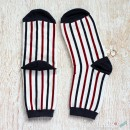 Vertical Stripes Cotton Socks