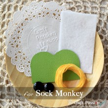 Sock Monkey Kit - Free Gift With Purchase of Socks