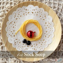 Sock Sheep Kit - Free Gift With Purchase