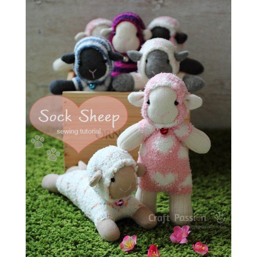 Sock Sheep Kit - Free Gift With Purchase of Socks