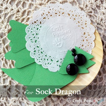 Sock Dragon Kit - Free Gift With Purchase of Socks