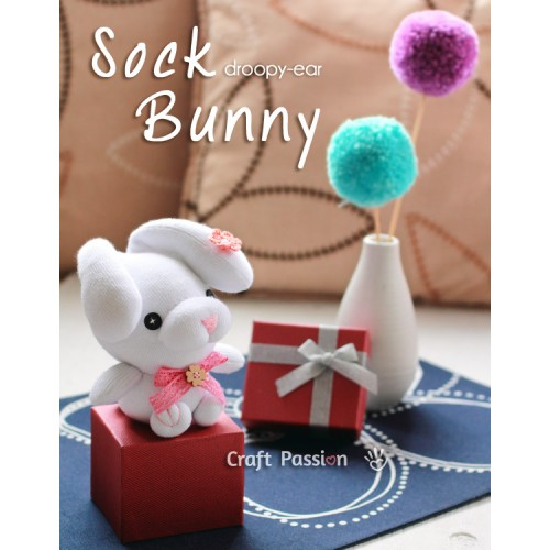 Sock Bunny Kit - Free Gift With Purchase of Socks