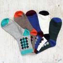 Argyle Cotton Socks - 5 Colors