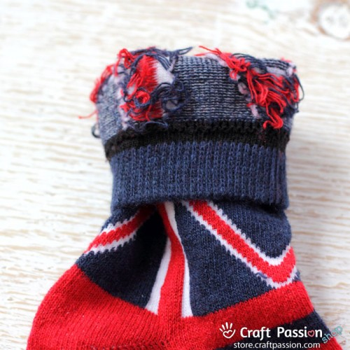 United Kingdom Flag Wool Socks