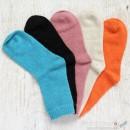 Plain Wool Socks - 5 Colors