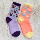 Bunny Chenille Microfiber Socks Set - 2 Colors