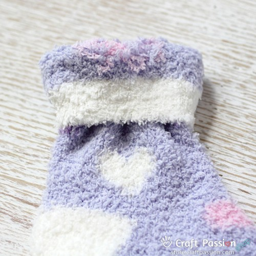 Heart Chenille Microfiber Socks Set - 5 Colors