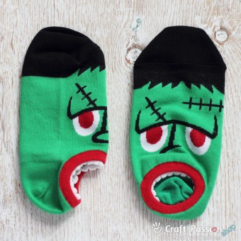 Frankenstein Cotton Ankle Socks