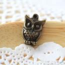 Owl Charm B - small [ 4 pcs / pack]