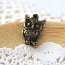 Owl Charm B - small [ 4 pcs / pack]
