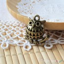 Owl Charm D - medium