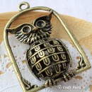 Owl Charm K - large
