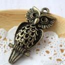 Owl Charm L - large