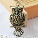Owl Charm N - large