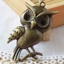 Owl Charm Q - large