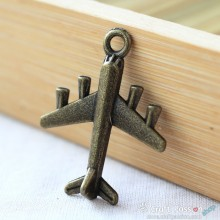 Airplane Charm - small [ 2pcs / pack ]