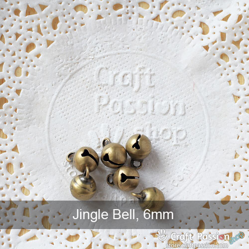 Jingle Bell, 1 pack - 8mm, 6mm