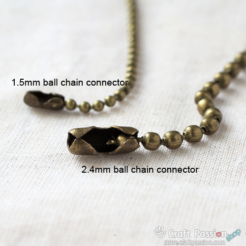 Ball Chain Connectors [ 10 pcs / pack ]