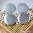 Macaron Coin Purse Case, Circle, 48mm - 1 set