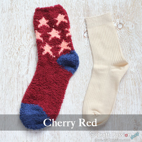 Chenille Microfiber Socks Set - Star