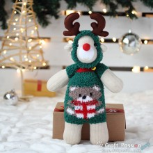 Bear Sock Reindeer