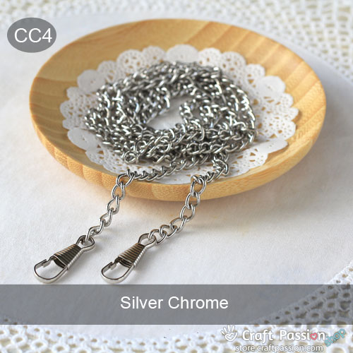 Purse Chain Strap with Hooks