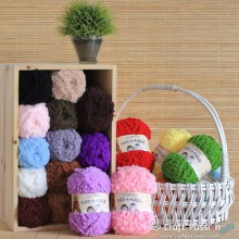 Fuzz-A-Fleece Yarn, 50g/ball, 23 colors
