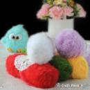 Eyelash Fur Yarn, 100g/ball, 13 colors