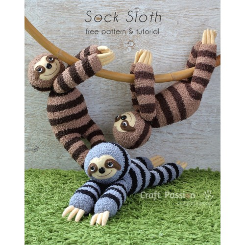 Sock Sloth Kit - Free Gift With Purchase