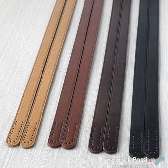 "Leather Shoulder Straps, 21.6"" / 55cm, 1 pair"