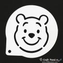 Cake Stencil - Winnie Bear