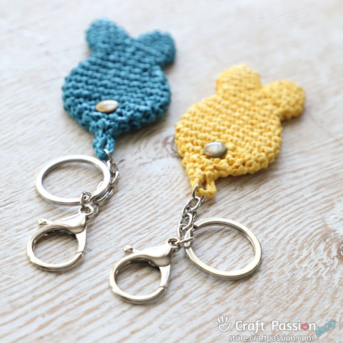 Keychain - Split Ring With Lobster Claw Clasps