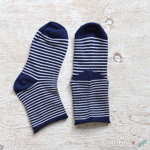 Stripes Cotton Socks - 7 colors