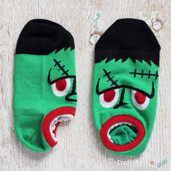 frankenstein ankle socks