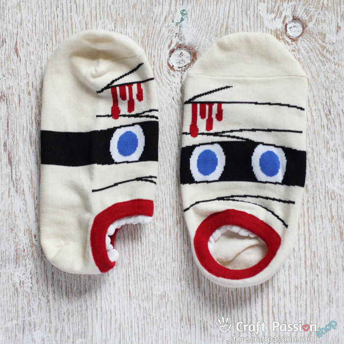 mummy ankle socks