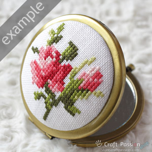rose pocket mirror