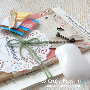 owl macaron diy kit craft passion store